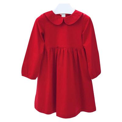 Ishtex Textile Products, Inc Red Empire Dress