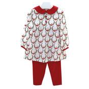 Ishtex Textile Products, Inc Wreath Tunic Set