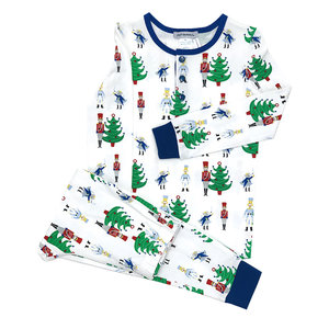 Ishtex Textile Products, Inc Nutcracker Boy's PJ Set