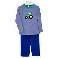 Ishtex Textile Products, Inc Tractor Applique Boy's Pant Set