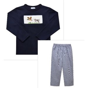 Vive La Fete Morning Hunt Smocked Pant Set