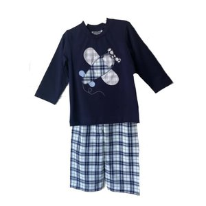 True Airplane Applique Pant Set