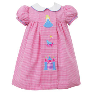 Claire & Charlie Princess Applique Dress