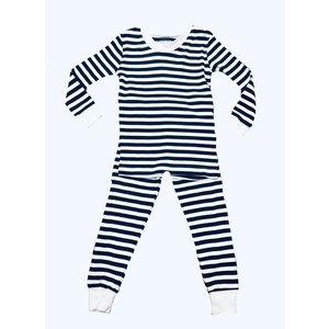 Sara's Prints Long John Stripe PJ