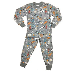 Sara's Prints Space Rockets PJ's