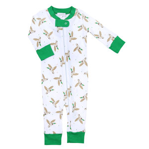 Magnolia Baby Duck Life Zipped Pajama
