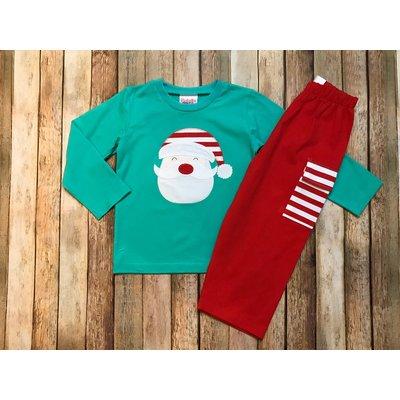 Natalie Grant Santa Boy Pant Set