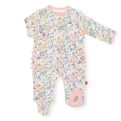 Magnificent Baby Chelsea Organic Cotton Magnetic Footie