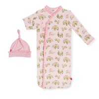Magnificent Baby Eden Modal Magnetic Gown & Hat