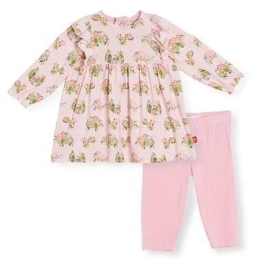 Magnificent Baby Eden Modal Magnetic Dress & Pant Set