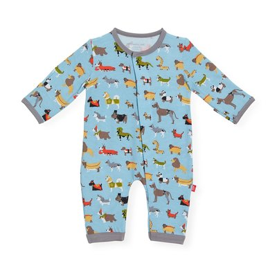 Magnificent Baby In-Dog-Nito Modal Magnetic Coverall
