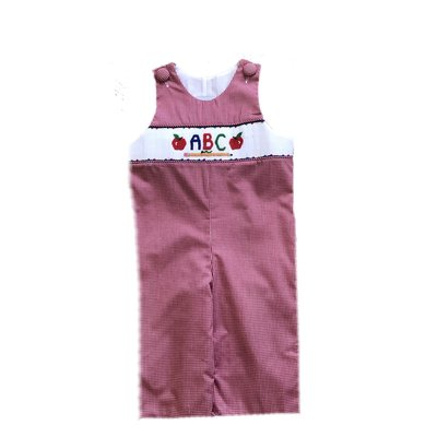 Delaney ABC Smocked Boys Longall