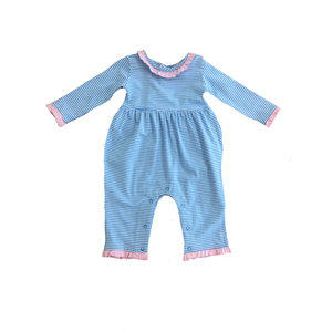 Ishtex Textile Products, Inc Elephant Group Blank Girl Romper
