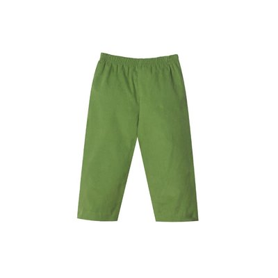 Zuccini Sage Green Corduroy Elastic Pull-on Pant