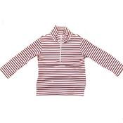 Zuccini Cooper Zipper Red Stripe Jacket