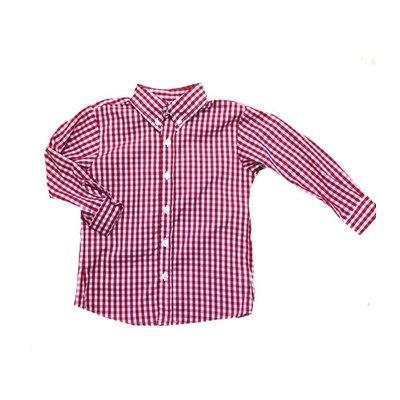 Zuccini Red Check Woven Dress Shirt