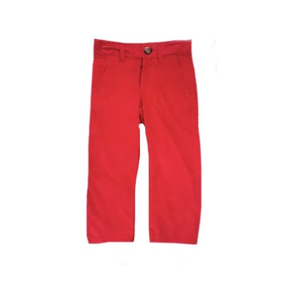 Zuccini Red Corduroy Basic Dress Pant