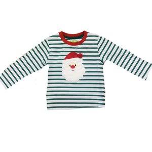 Be Mine Holiday- Santa Boy's Shirt