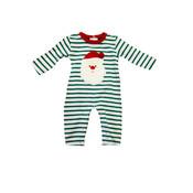 Be Mine Holiday-Santa Boy's Romper