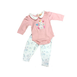 Luigi Baby Unicorn Onesie and Pant Set