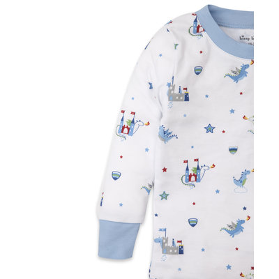 Kissy Kissy Dragon Towers Pajama Snug Set