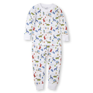 Kissy Kissy Dyno Campfire Pajama Set