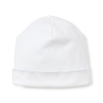 Kissy Kissy Basic White/Lt Blue Hat