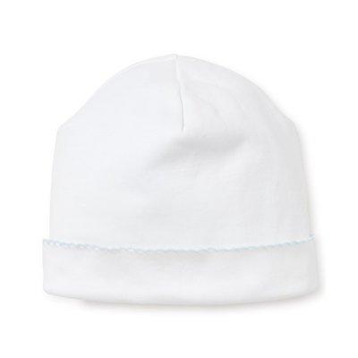 Kissy Kissy Kissy Basic White/Lt Blue Hat