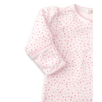 Kissy Kissy Kissy Sweethearts White/Pink Convertible Gown