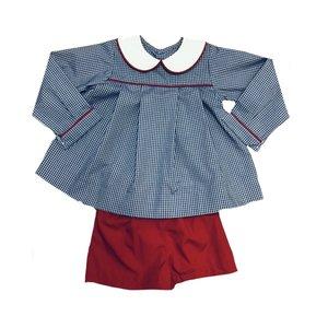 Remember Nguyen Royal Blue Israel Short Set