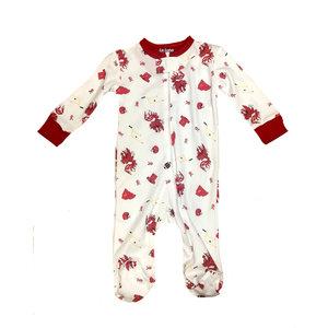 Lulu Bebe LLC Gamecock Boy Footie Pajama