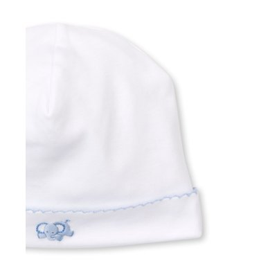 Kissy Kissy SCE Jolly Jungle White/Lt Blue Hat