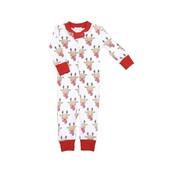 Magnolia Baby Rudolph Zipped Pajama
