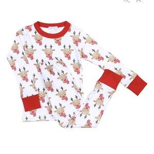 Magnolia Baby Rudolph Long Pajama
