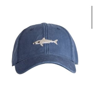 Harding Lane Great White Shark Navy Baseball Hat