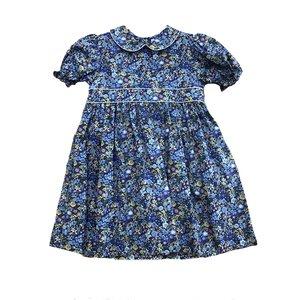 Petit Ami Blue Floral Dress