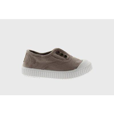 Victoria No Lace Sneakers Stone (Tan)