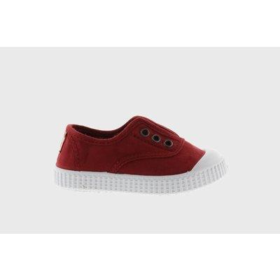 Victoria No Lace Sneaker Rojo (Red)