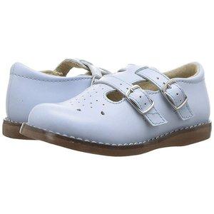 Footmates Danielle Lt Blue Shoe