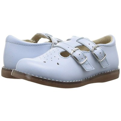 Footmates Danielle Lt Blue Shoe