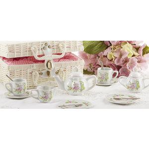 Delton Products Whimsical Owl Tea Set
