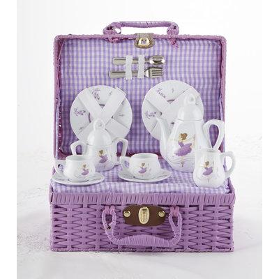 Purple Dancer Tea Set