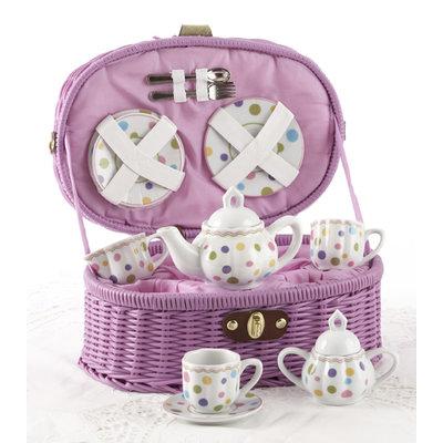 Delton Products Gum Drops Porcelain Tea Set