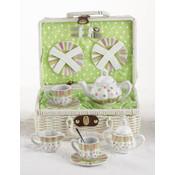 Porcelain Tea Set, Sprinkles