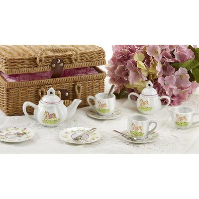 Whimsical Owl Tea Set