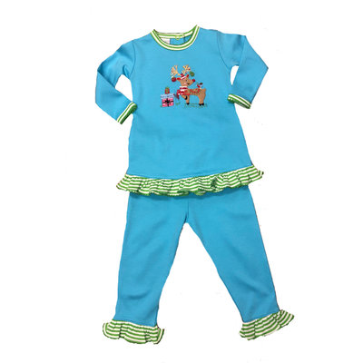Squiggles Festive Fawn Pant Set
