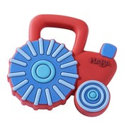 HABA Tractor Silicone Teether