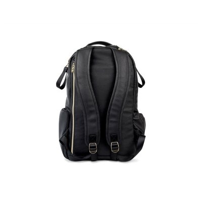 Itzy Ritzy Jetsetter Black Boss Backpack Diaper Bag