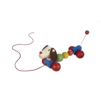 Ganz Wood Dog Pull Toy