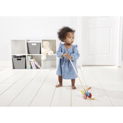 Ganz Wood Duck Push Along Toy